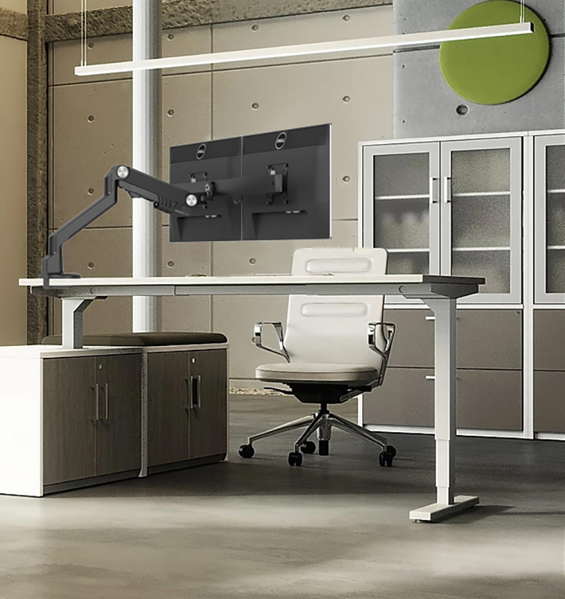 Links Furniture: Stand-up desks, workstations, boardroom and reception.