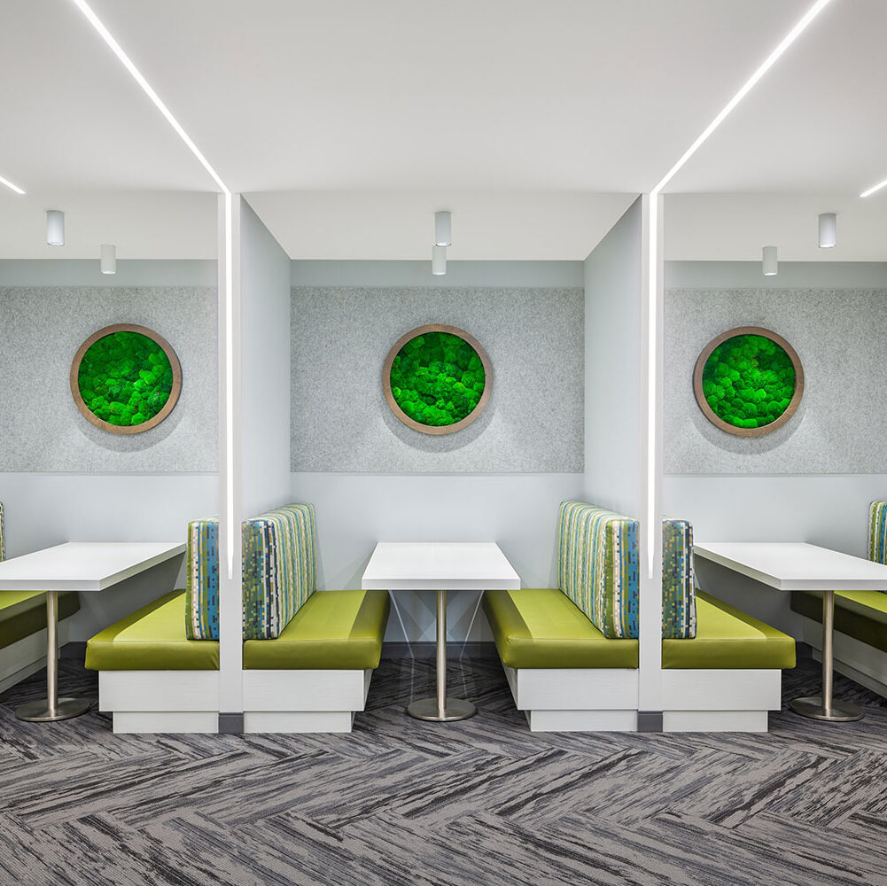ezoBord acoustic panels can create the perfect open space and manage any disruptive ambient sound.